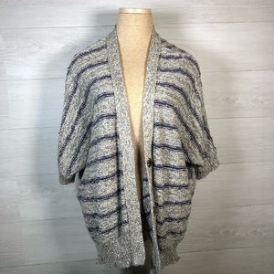 Forever 21 dolman button up cardigan sweater